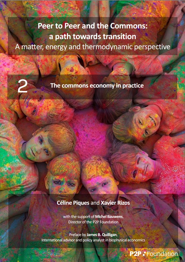 Peer to Peer and the Commons:  A matter, energy and thermodynamic perspective II